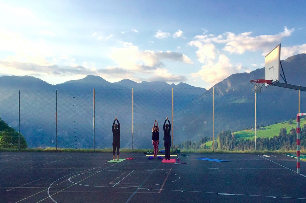 Mountain Fitness Weekend Yoga